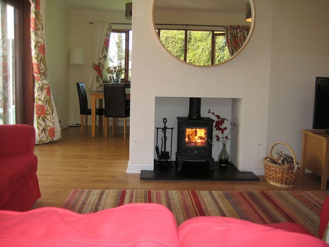 4 * Lodge, 5 min walk to beach, garden & parking - Alnmouth