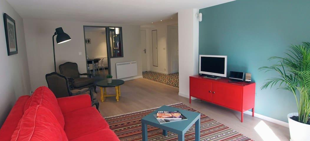 Rue de Negreneys 64m2, accès jardin - Toulouse - Flat