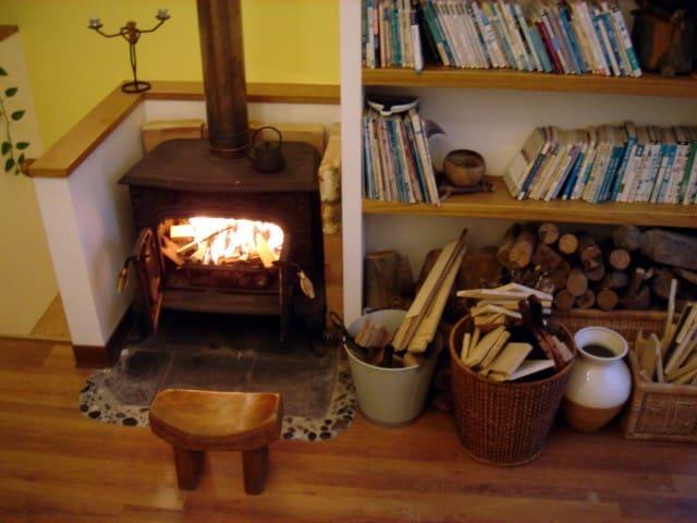 有壁爐有閣樓的房子~包整棟For Full House - Longtan Township - Stadswoning