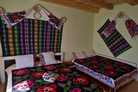 Family room Casa Carolina Maramures sleeps up to 4