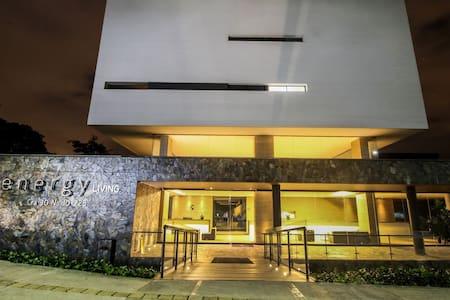 ★1701★Coolest building Medellin★Roof top Pool★