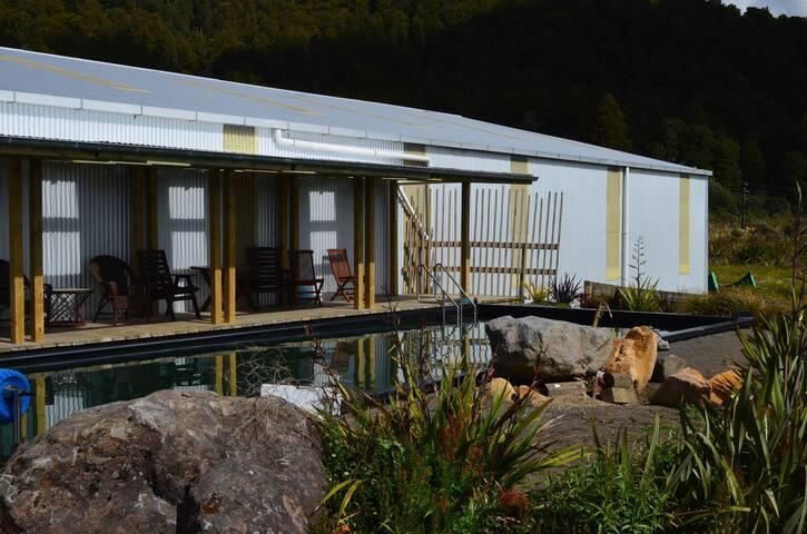 Hot Pool Area