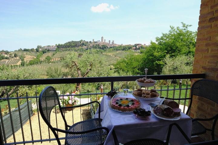 B&B Villa La Cornice con giardino panoramico