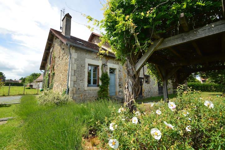 La Maison Bleu at La Garanne
