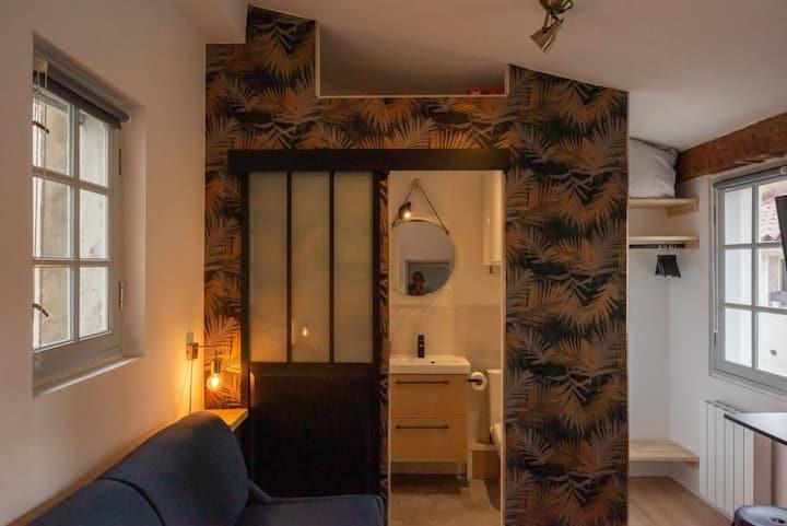 Studio type chambre d'hôtel