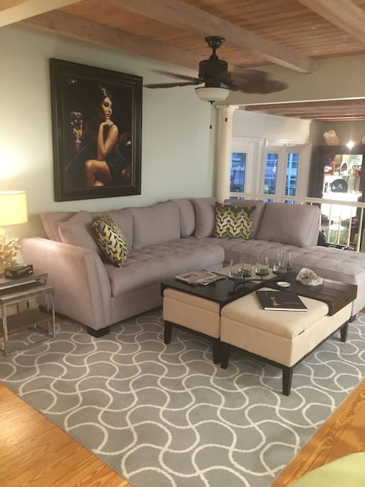 Open floor plan which will seat everyone in your group!