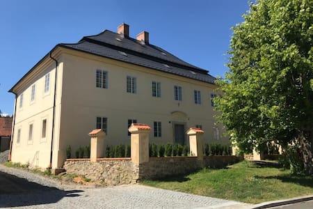 Fara Chudenice_former rectory house built in 1738.