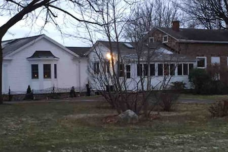 1825 Cobblestone Farmhouse, 4 BR, 2 full baths