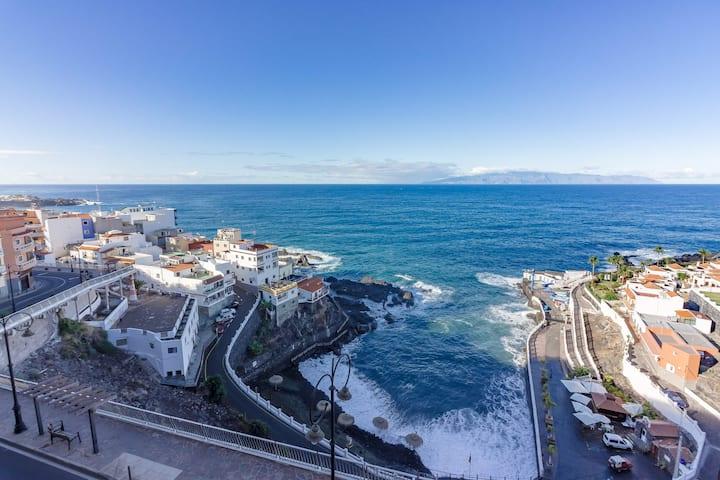 Tenerife Los gigantes Апартаменты с видом на океан