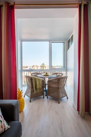 Sunny Mediterranean apartment in Empuriabrava! - Empuriabrava - Flat