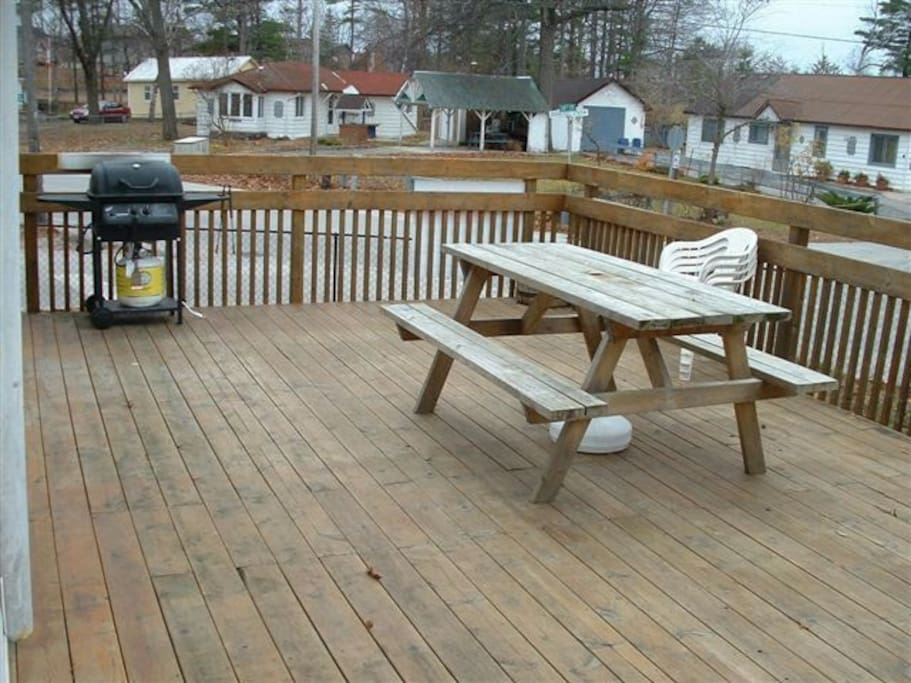 Big Deck for entertaining