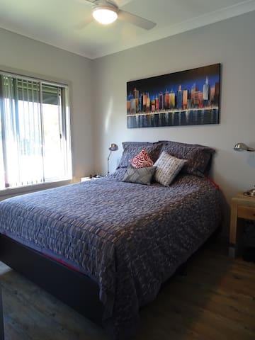 Bedroom 1 - winter doona