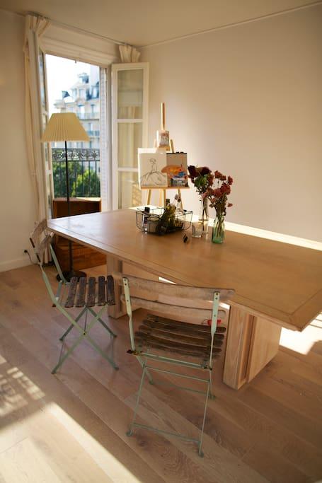 Sunroom - Brightness & balcony