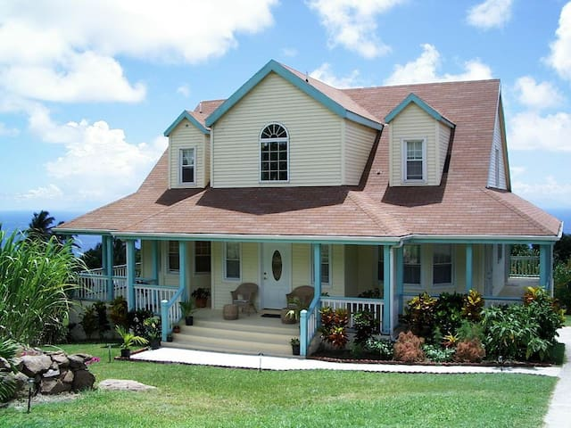 Gingerland Hill Vacation Home Nevis