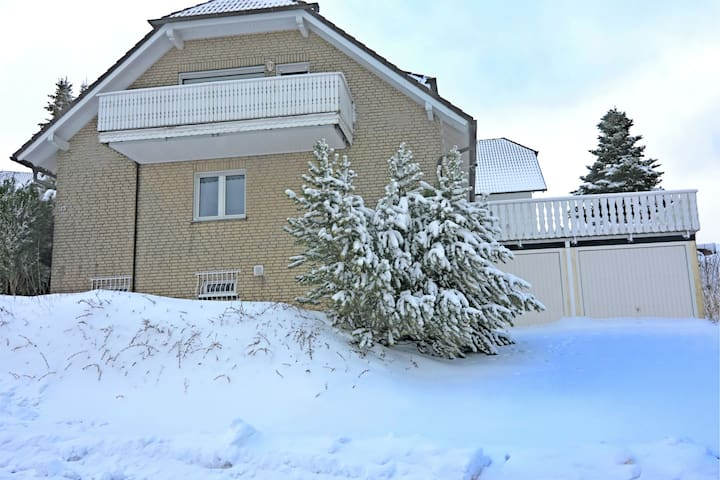 Attractive apartment in Winterberg with balcony