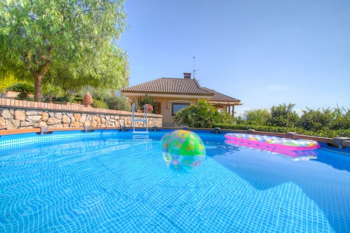 HolidayVilla RomeNaples Pool WiFi Parking BBQ 6+2 - Minturno - Vila