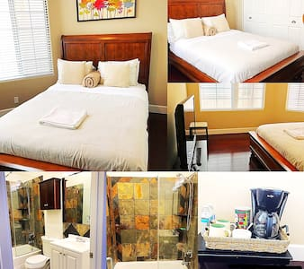 A spacious and modern private bed & bath near LAX! - Inglewood
