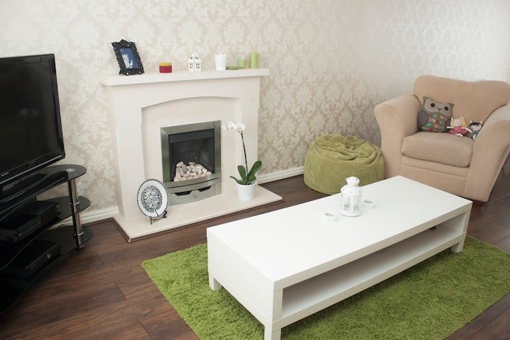 Cosy single room - Parking included