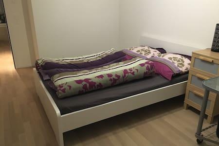 Zimmer mit Bad in Gartenwohnung - Embrach - Appartement