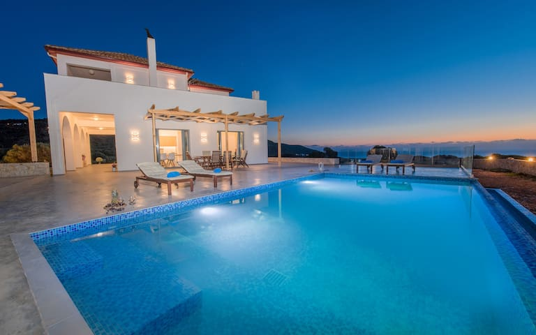 Lighthouse Villa with Private Pool and Sea view