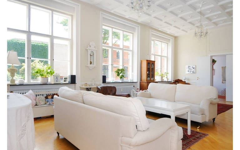 Grand flat in wonderful Copenhagen