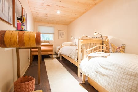 The Warrior 3 Room at YOGABnB - Stratton Mountain
