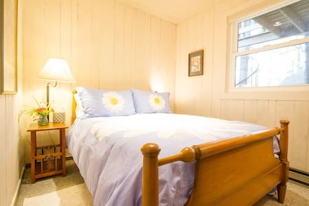 Yogabnb Warrior 1 Room  (Double bed) - Stratton Mountain - Bed & Breakfast