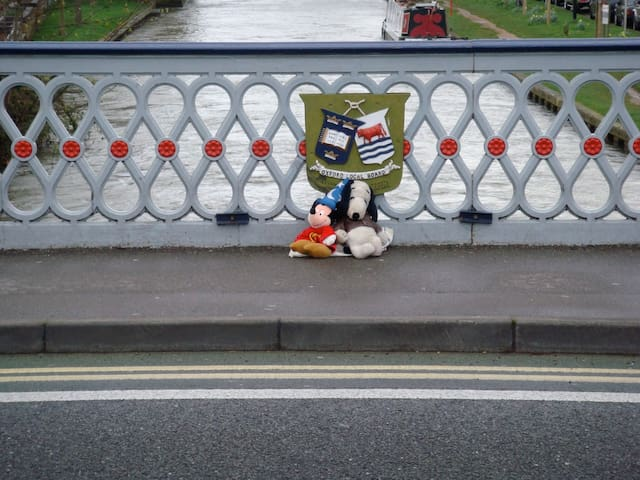 Snoopy and Mickey love Oxford too!