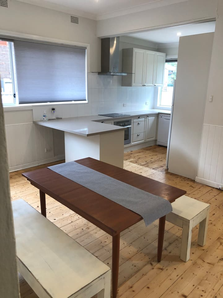 Spacious house close to transport and parks