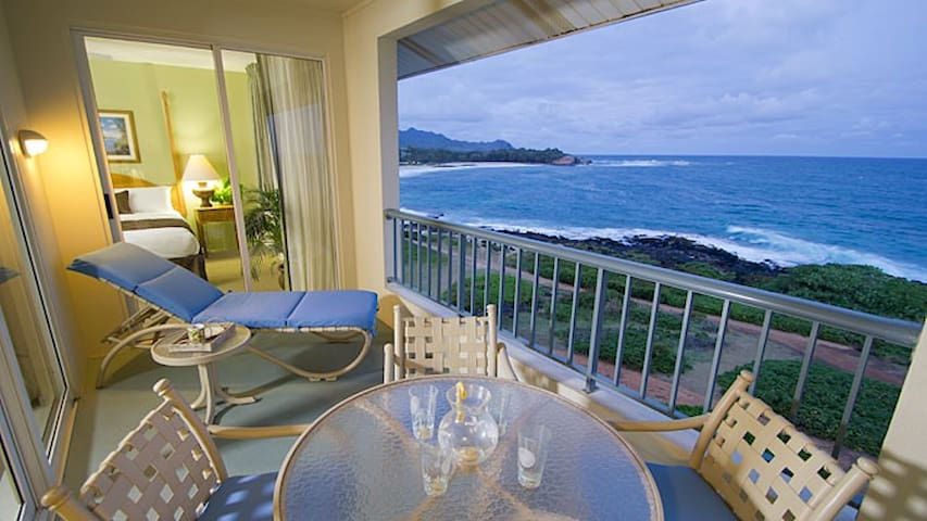 Ocean Front condo at Poipu Point (#1) - Koloa - Huoneisto
