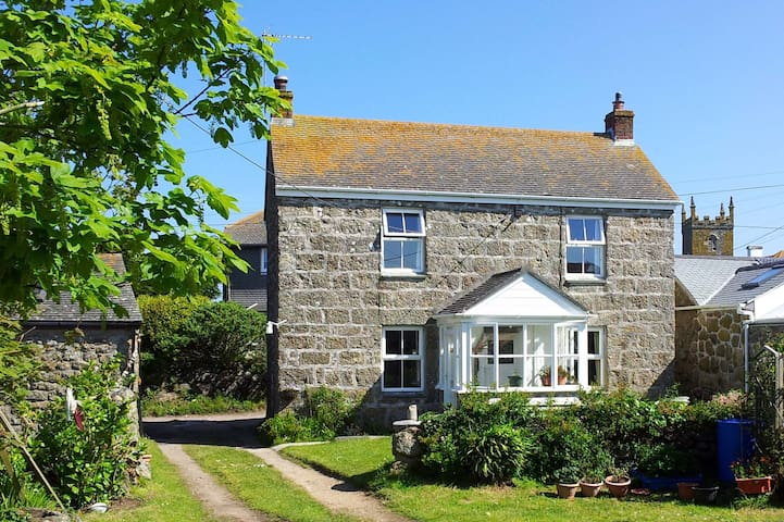 Cosy cottage near cliffs & beaches - Sennen