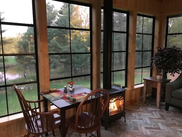 Inn at the River - Willow Room riverside room