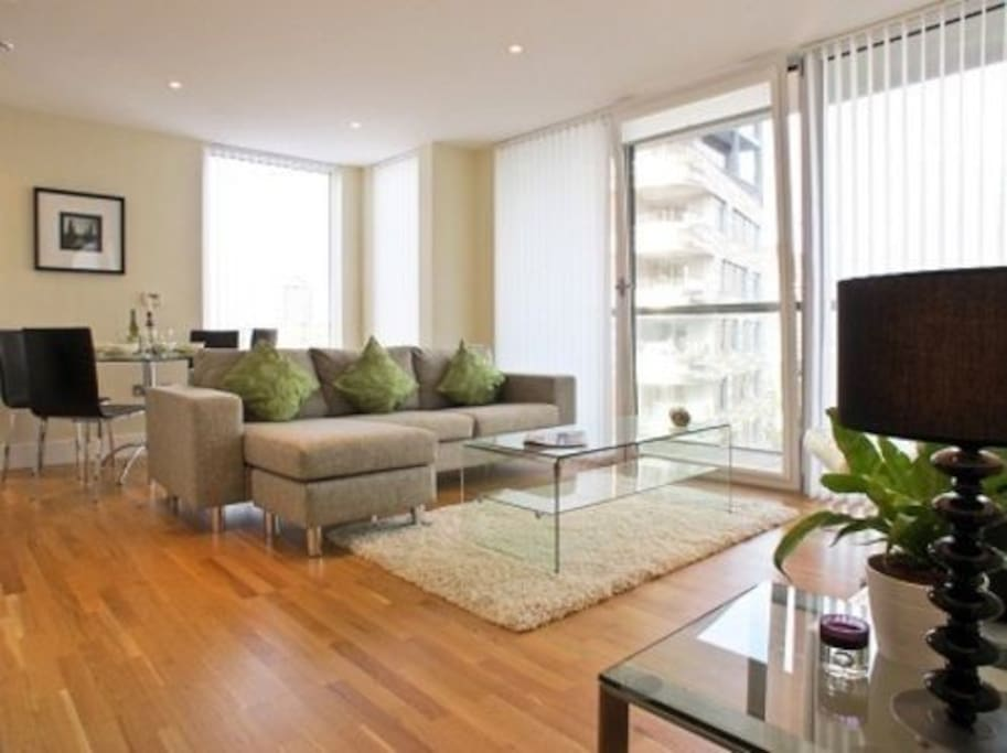 Stylish and comfortable living areas