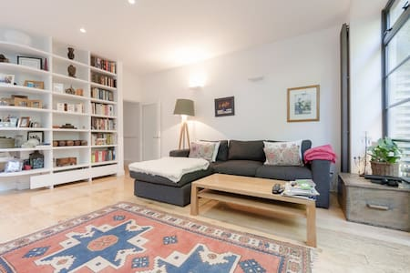 lovely loft room in family house