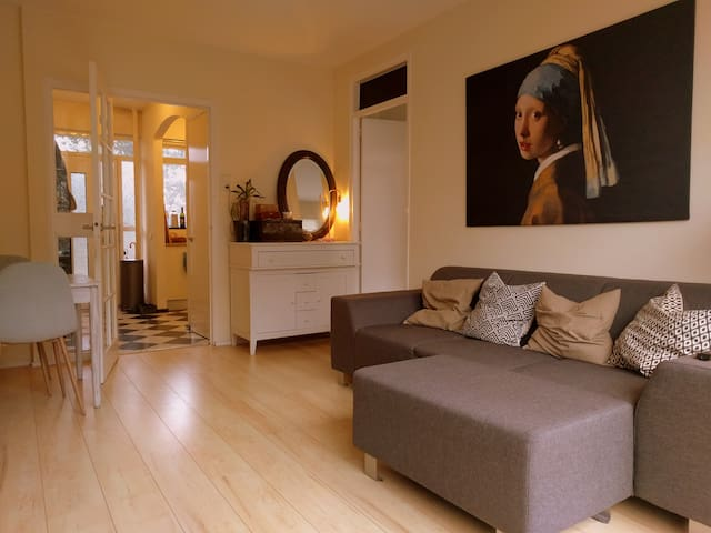 Spacious apartment in quiet area near city centre - Den Haag - Appartement