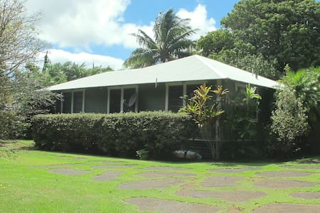 """The Park House"", North Kohala, Big Island Hawaii. - Kapaau - Talo"