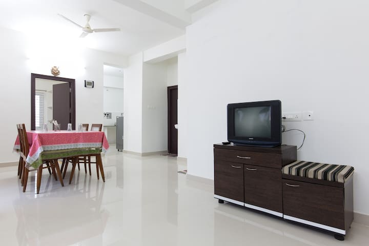2BHK apartment on top floor - Hyderabad - Huoneisto