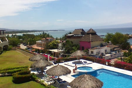 1 Bdrm Condo w/private beach access - Punta de Mita