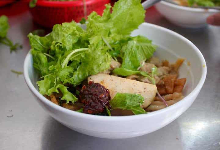 Special noodle in Hoian