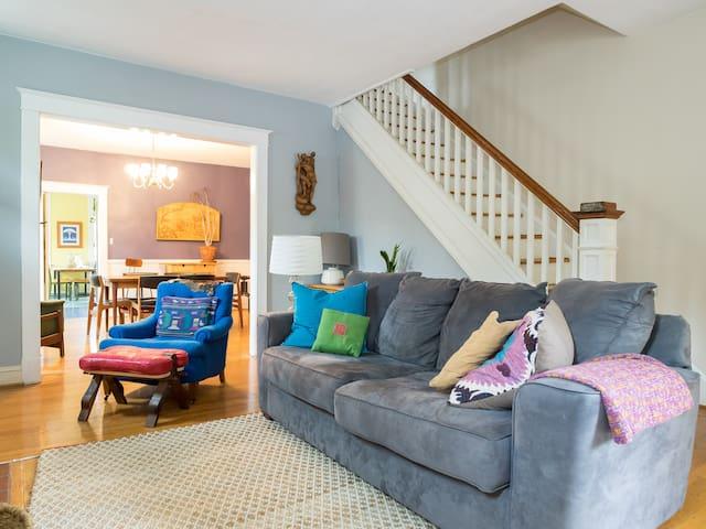 Cozy Room in Beautiful JHU Vicinity - Baltimore - Huis