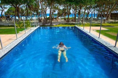 Beach Front Luxury Villa sleeps 11