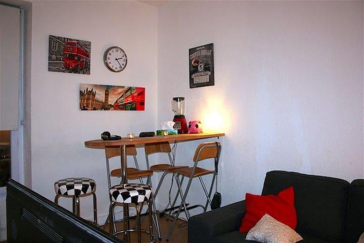 Super appartement rue des artistes