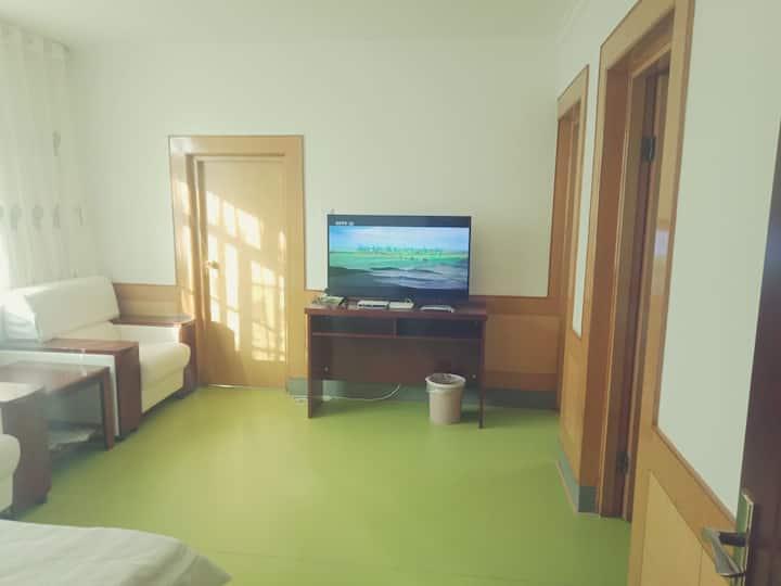 石油度假村国峰民宿2人标准套房
