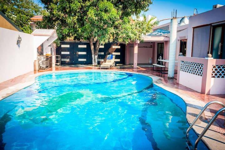 Hermosa casa de vacaciones en Manzanillo!