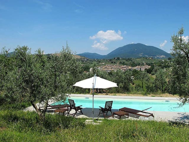 Small design villa with a Huge Pool - Torri in Sabina
