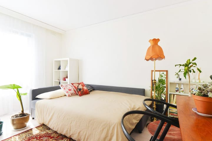 Spacious, stylish room - Footscray - Appartement