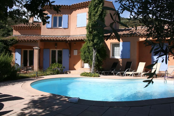 Spacious villa with private pool - Auribeau-sur-Siagne