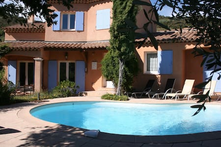 Spacious villa with private pool - Auribeau-sur-Siagne - Villa