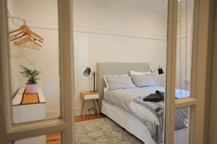 Beautiful bedroom in South Yarra