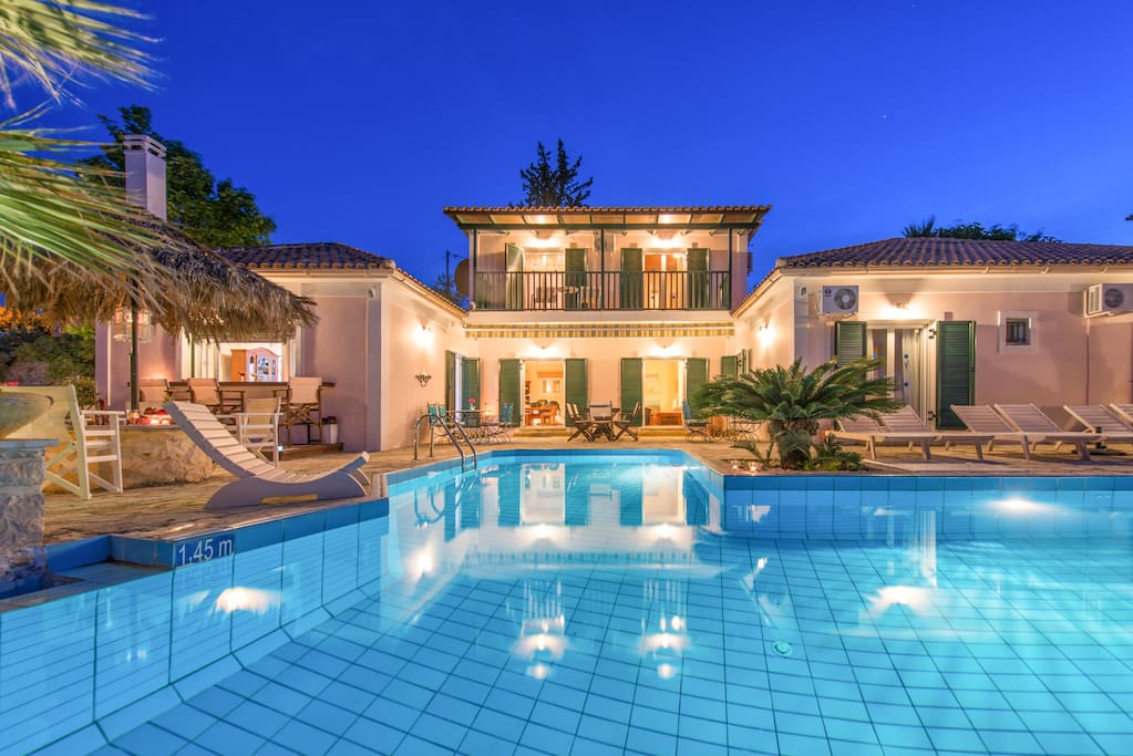 The Villa & Pool